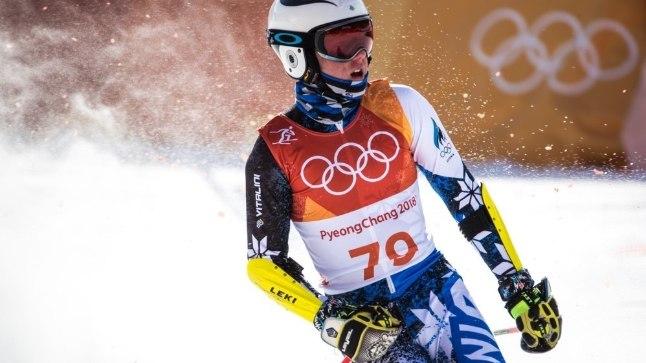 Tormis Laine Pyeongchangi olümpial.