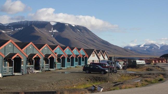 Longyearbyeni linn Norra Teravmägedes.