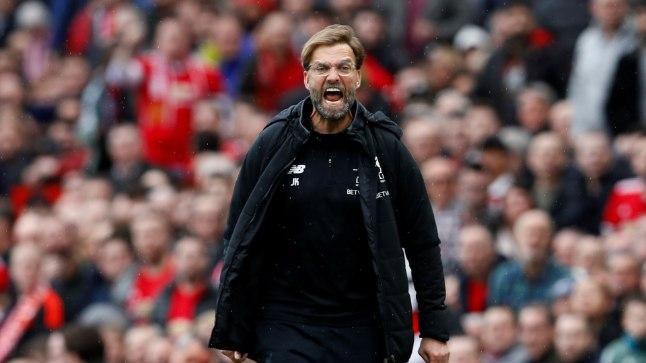 Liverpooli peatreener Jürgen Klopp.