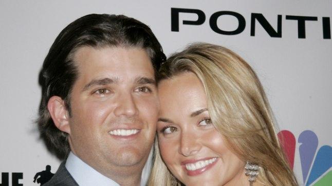 Donald Trump juunior koos abikaasaga 2006. aastal.