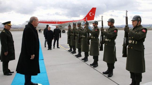 Türgi president Recep Tayyip Erdogan külastas sel nädalal võimalikku tulevast olümpialinna Erzurumi.