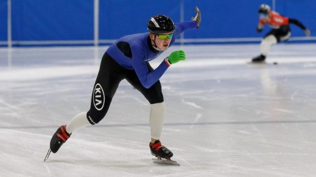 Lühiraja kiiruisutamise Eesti meistrivõistlused Tondiraba jäähallis.