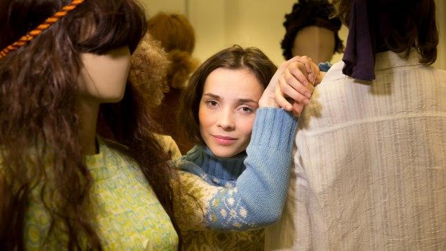 Ugala teater näitleja Klaudia Tiitsmaa
