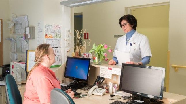 Eve Karmo õendus- ja hooldusabikliinikus