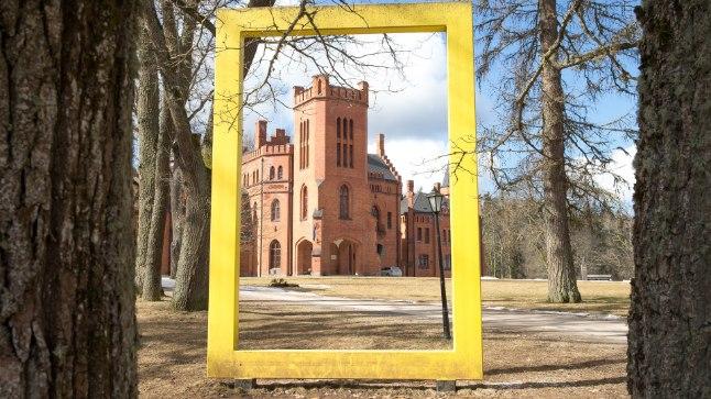VALGAMAA PÄRL: Sangaste loss on Lõuna-Eesti üks kaunimaid hooneid.