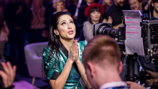 """Elina Nechayeva """"Eesti laulu"""" võiduemotsioonid"""