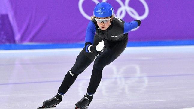 Saskia Alusalu olümpiafinaalis.