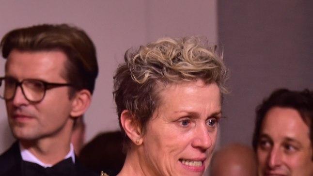 Frances McDormand parima naispeaosatäitja Oscariga.