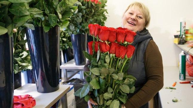 Svetlanale väga meeldib lillepoe töö
