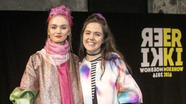 Moelooja Mariliis Niine koos modelliga