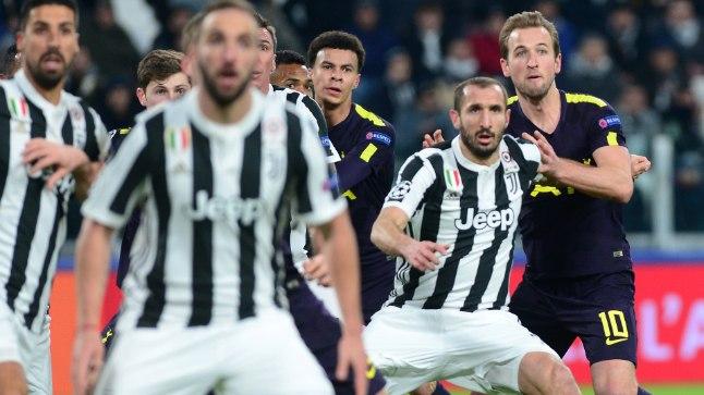 Torino Juventuse ja Tottenham Hotspuri avakohtumine lõppes 2:2