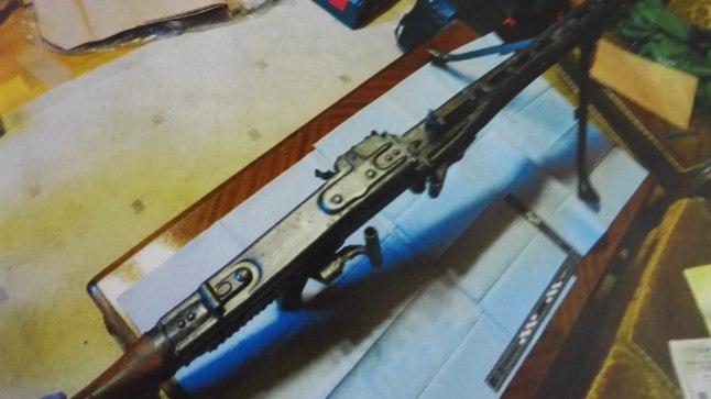 TERVE ARSENAL: Marguse Tallinnas asuvast kodust ja suvilast leiti kümneid relvi