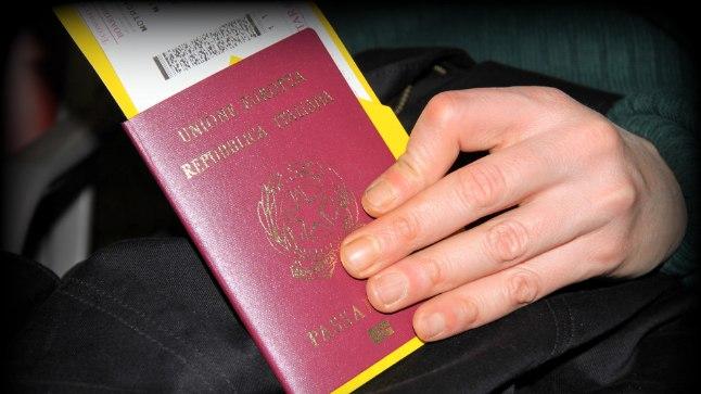 Itaalia pass. Pilt on illustratiivne.