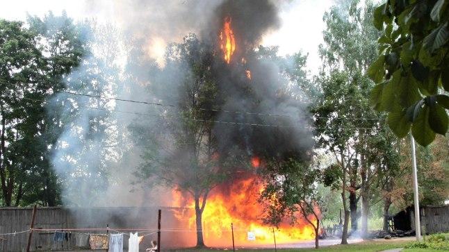 Kulupõlengust alguse saanud tulekahju