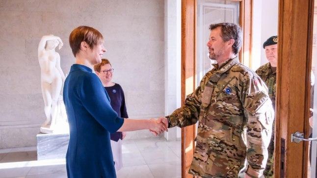 President Kersti Kaljulaid kohtus Taani kroonprints Frederikiga