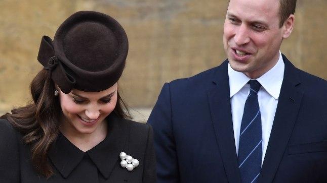 Hertsoginna Catherine ja prints William