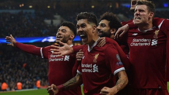 Liverpool alistas Manchester City ja jätkab jahti Meistrite liiga karikale.