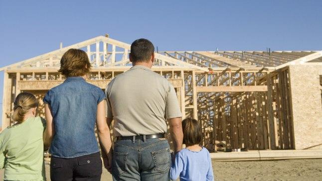 Ehitusjärgus kodu