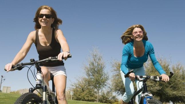 Jalgrattaga sõitjatel on tuju sageli parem.