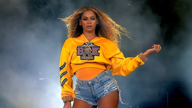 Beyoncé Knowles Coachella festivalil.