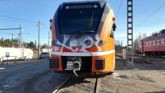 Soditud rong Riisiperes
