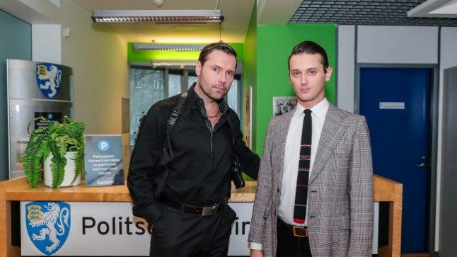 """""""Siberi võmmi"""" näitlejad Veikko Täär (Viktor Korol) ja Robert Annus (Anders Prikk)"""