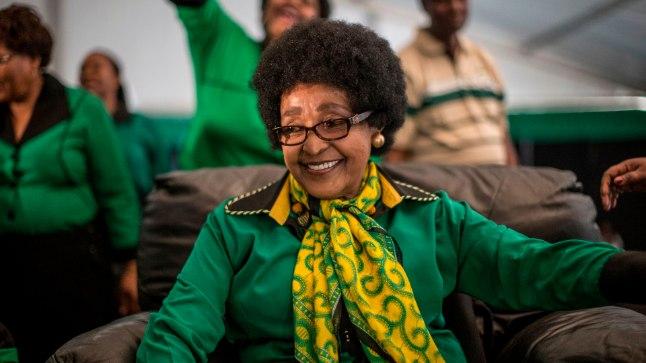 Winnie Mandela 2016. aastal