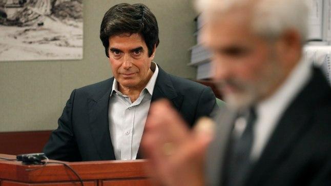 David Copperfield kohtus