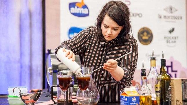 Eesti parim kohvikokteilide valmistaja on Annely Jüriöö