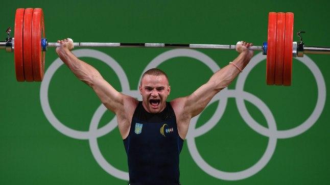 Oleksandr Pelešenko Rio olümpial.