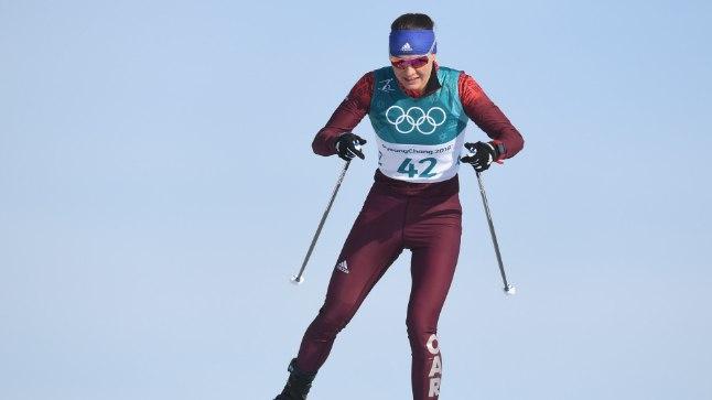 Anastassia Sedova Pyeongchangi olümpial.