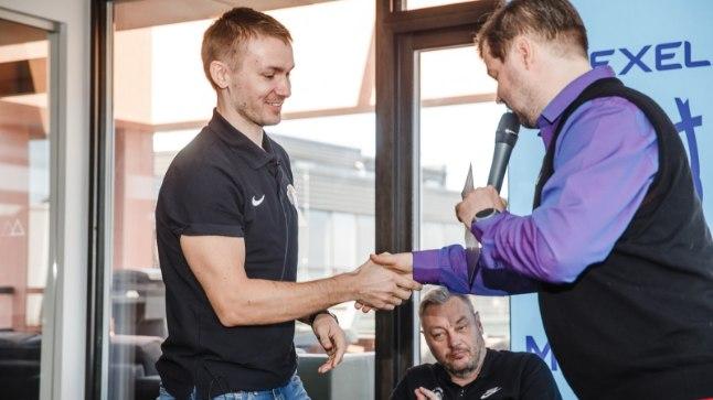 Heiko Rannula (vasakul).