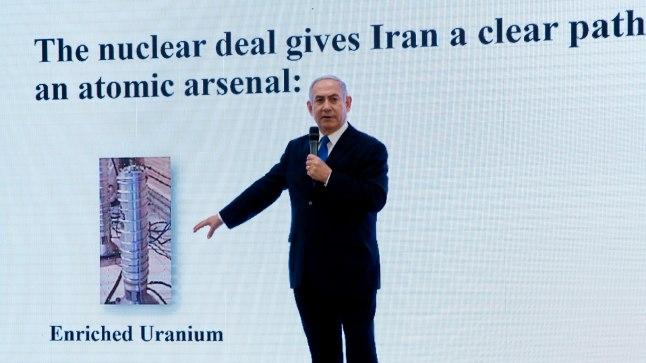 Benjamin Netanyahu väitis pressikonverentsil, et tuumakokkuleppe on läbi kukkunud
