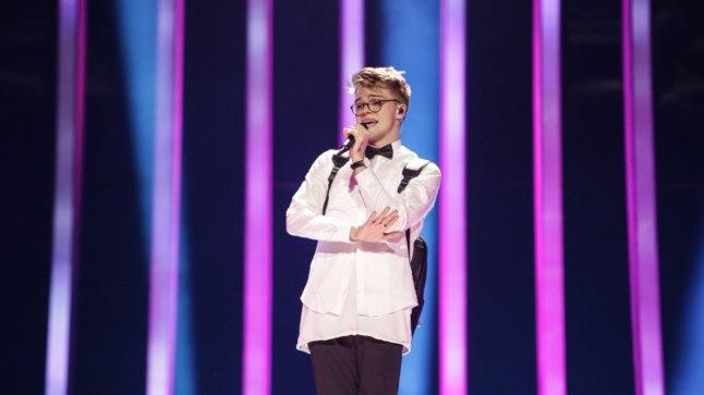 Mikolas Josef Eurovisioni proovis