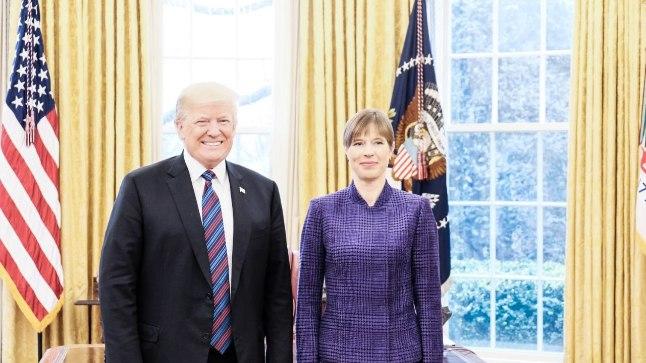 Donald Trumpi ja Kersti Kaljulaidi kohtumine