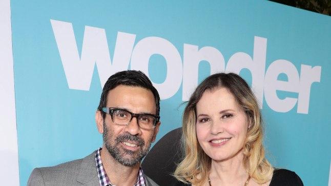 Geena Davis ja Reza Jarrahy