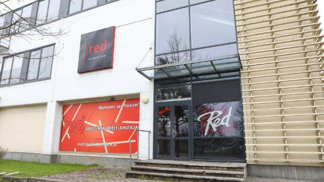 SULETUD: Viljandi ööklubi Red sulges mõneks ajaks uksed.