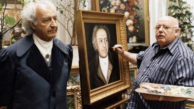 ÄRI LÄKS HÄSTI: Hilisemas elus teenis Konrad Kujau tublisti raha kuulsate maalide võltsimisega.