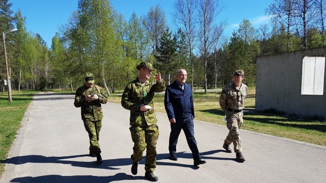 Kaitseminister Jüri Luik Siili lõpus