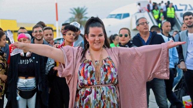 Eurovisioni  võitja Netta saabus kodumaale