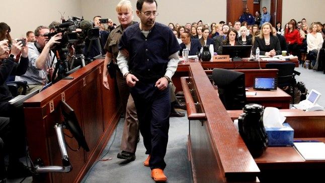 Esiplaanil süüdi mõistetud spordiarst Larry Nassar