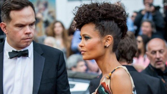 "Thandie Newton Cannes'is ""Solo"" esilinastusel."