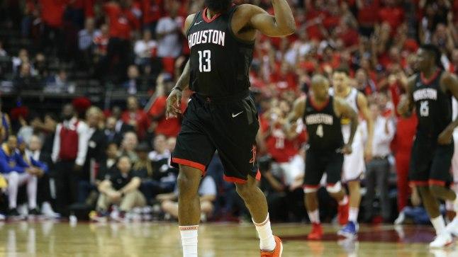 Houston Rocketsi vedur James Harden.