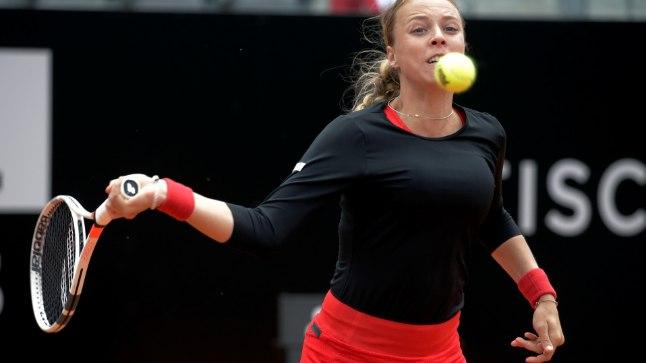 Anett Kontaveit - Venus Williams Rooma turniiri 3. ringis.