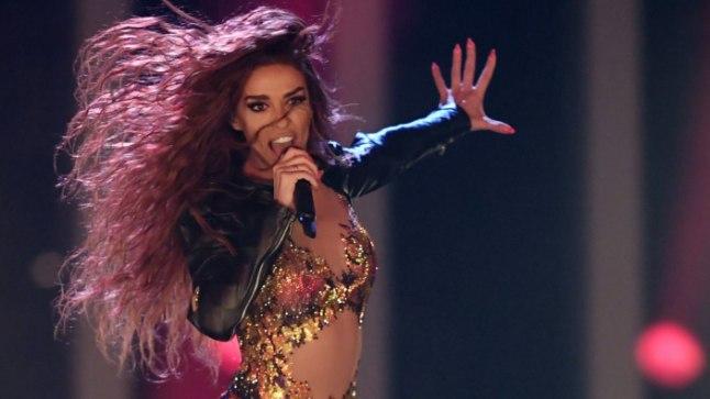 Eleni Foureira Eurovisionil