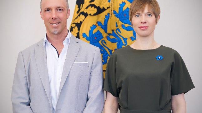 Sven Lilienström ja Kersti Kaljulaid