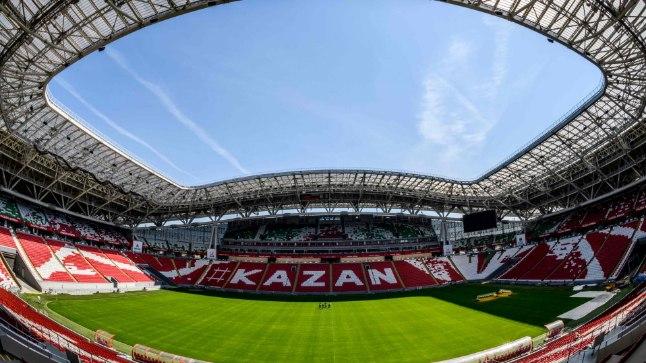 Venemaa võõrustab sel suvel jalgpalli MMi.