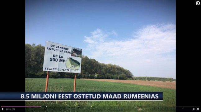 LUHTUNUD INVESTEERING: Maatükid Rumeenias tõi oodatud hiigeltulu asemel hoopis üüratu kahjumi.