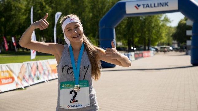 VIDEO   Kelly Sildaru pani end proovile kuulsal Eesti jooksuvõistlusel