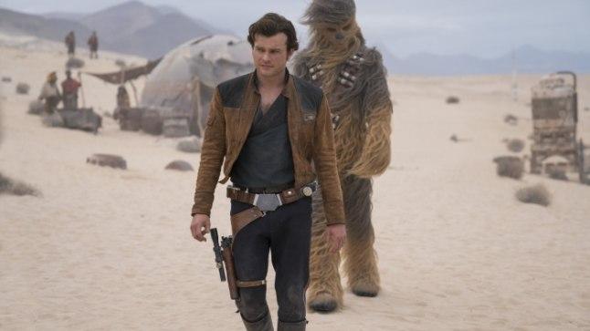 Han Solo ja tema ustav kaaslane Chewbacca.